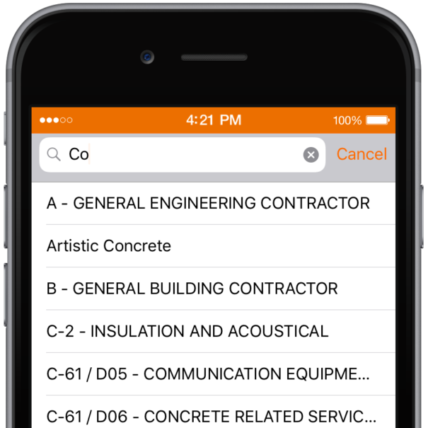 Find trade workers in ServicePair Pro app