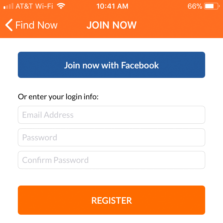 Sign Up in ServicePair